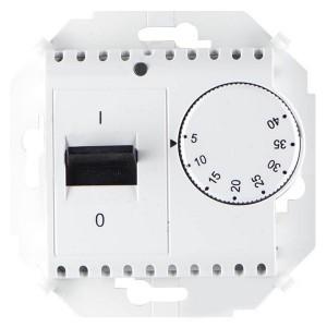 Термостат для тёплого пола с зондом 16А 230В 3600Вт 5-40град. Simon 15, белый