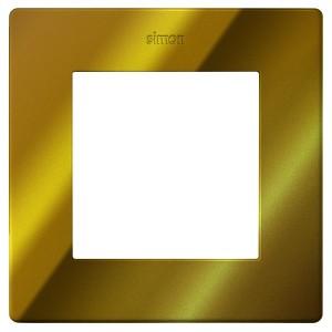 Рамка Simon 24 Harmonie 1 пост, золото