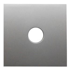 Накладка розетки TV Экопласт LK80, серебристый металлик