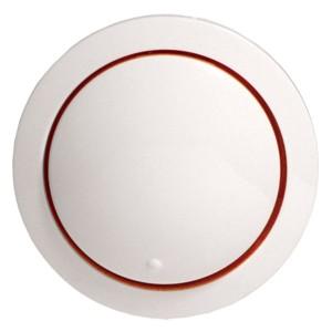 Накладка светорегулятора со световой индикацией Экопласт Vintage, белый