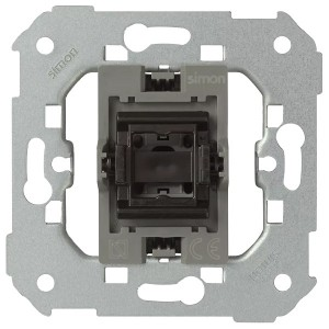 Выключатель 1 клав экспресс-монтаж 10А Simon 82, механизм