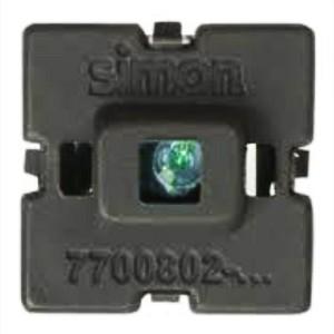 Блок LED подсветки цвет голубой Simon 82, механизм