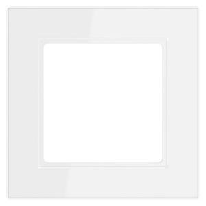 Рамка 1-ая Jung A flow Белый