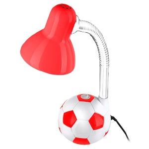 Светильник Футбольный мяч настол. 40Вт Е27 красно-белый TDM