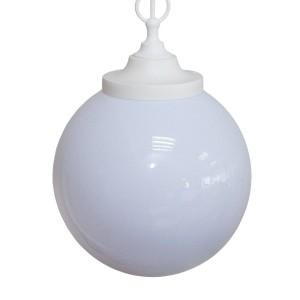 Светильник НСБ 02-60-251 УХЛ4 60 Вт, IP40, шар опал 250 мм, цепь белая TDM