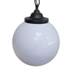 Светильник НСБ 02-60-251 УХЛ4 60 Вт, IP40, шар опал 250 мм, цепь черная TDM