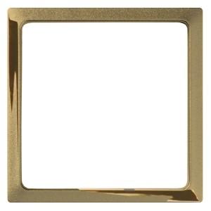 Вставка декоративная в рамку базовую с вырезом Simon 27 Play, золото