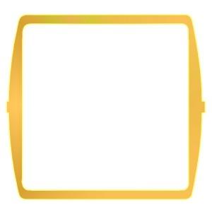 Декоративная вставка Simon 27, жёлтый