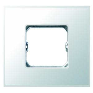 Рамка Simon 27 Neos 1 пост (+суппорт), матовый белоснежный
