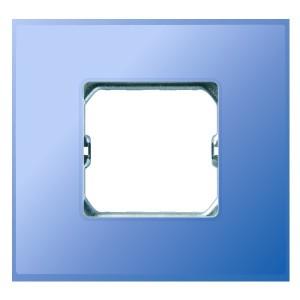 Рамка Simon 27 Neos 1 пост (+суппорт), матовый бирюзовый