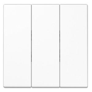 Клавиша для трехклавишного выключателя Jung LS Белый