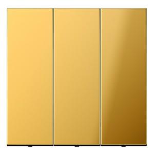 Клавиша для трехклавишного выключателя Jung LS Имитация золота