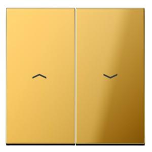 Клавиша 2-ая для жалюзийного выключателя/кнопок Jung LS Имитация золота
