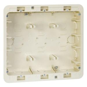 Коробка для внутреннего монтажа 3-рядной рамки с суппортами,236х266х50,5мм Simon 27C,82C