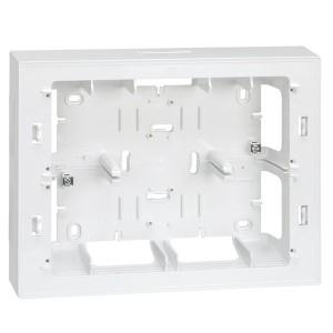Коробка для наружного монтажа накладки 27722-35, 250х193х53мм Simon 27C,82C белый