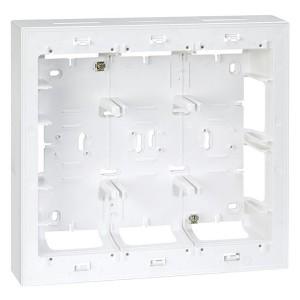 Коробка для наружного монтажа накладки 27723-35, 250х268х53мм Simon 27C,82C белый