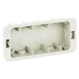 Коробка для внутреннего монтажа 1-рядной рамки с суппортами, 236х96х50,5мм Simon 27C,82C