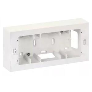 Коробка для наружного монтажа накладки 27721-35, 250х118х53мм Simon 27C,82C, белый