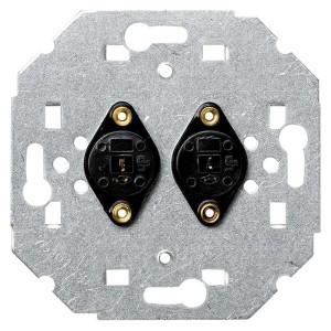 Аудиорозетка для подключения двух аудиоколонок DIN Simon 82, механизм
