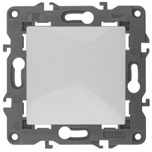 Выключатель 10АХ-250В IP20 Эра Elegance белый 14-1101-01
