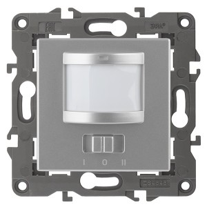 Датчик движения 2-проводной 180-240В 200Вт IP20 Эра Elegance алюминий 14-4103-03