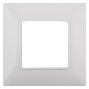 Рамка на 1 пост Эра Elegance белый 14-5001-01