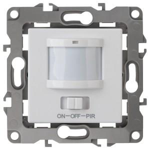 Датчик движения 3-проводной 180-240В 400Вт IP20 Эра 12, белый 12-4104-01