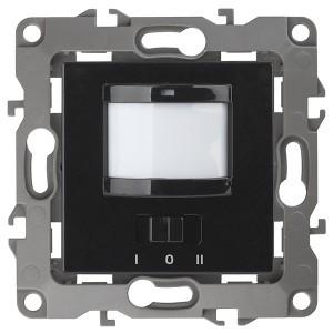 Датчик движения 2-проводной 180-240В 200Вт IP20 Эра 12, чёрный 12-4103-06