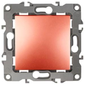 Выключатель 10АХ-250В IP20 без лапок Эра 12, медь 12-1001-14