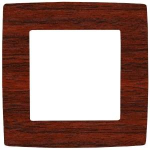 Рамка на 1 пост Эра 12, вишня 12-5001-08