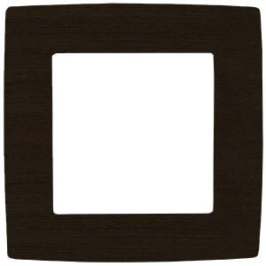 Рамка на 1 пост Эра 12, венге 12-5001-10