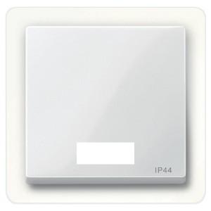 Клавиша 1-ая для выключателей с световой индикацией IP44 System M Merten полярно-белый