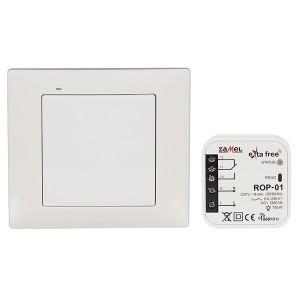 Комплект для беспроводного управления Zamel (RNK02 + ROP01) 1 канал 1250Вт белый