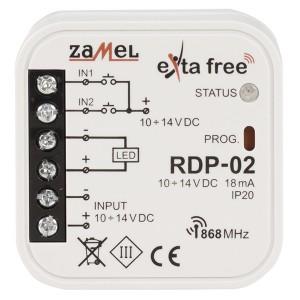 Драйвер LED с возможностью управления по радиоканалу Zamel Exta Free 1 канал 10-14В 4А DC
