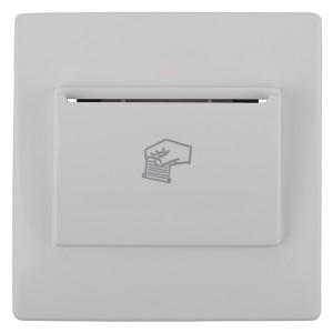 Накладка на карточный выключатель 12-4105-99 Эра12, белый 12-6201-01