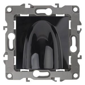 Вывод кабеля Эра12, черный 12-6003-06