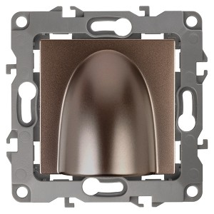 Вывод кабеля Эра12, бронза 12-6003-13