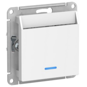 Выключатель карточный SE AtlasDesign, белый