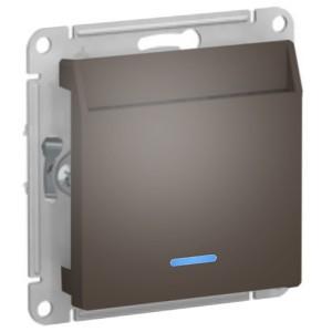 Выключатель карточный SE AtlasDesign, сталь