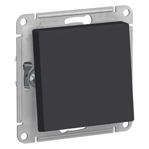 Одноклавишный переключатель IP44 10АХ SE AtlasDesign Aqua, карбон