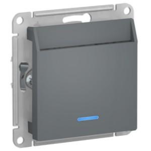 Выключатель карточный SE AtlasDesign, грифель