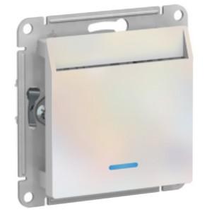 Выключатель карточный SE AtlasDesign, жемчуг