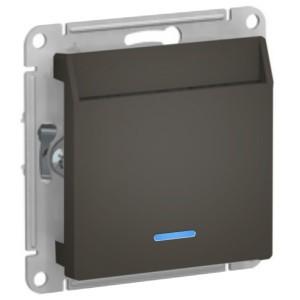 Выключатель карточный SE AtlasDesign, мокко