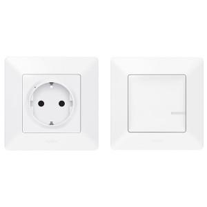 Комплект для управления бытовыми электроприборами Legrand Valena Life NETATMO белый