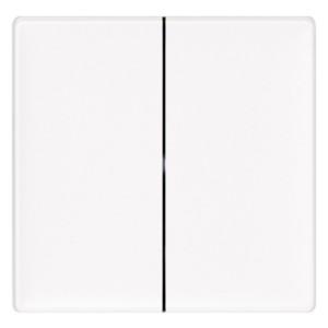 Радиовыключатель двухклавишный HiTE PRO Valena Life передатчик 2 канал белый без рамки 289104