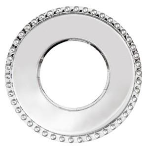 Рамка 1-я форма восьмерка Bironi Шедель , металл хром