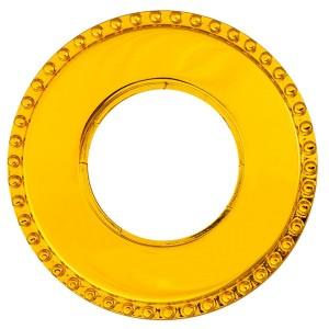 Рамка 1-я форма восьмерка Bironi Шедель , металл золото