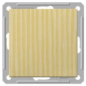 Одноклавишный выключатель 2-полюсный 10А механизм SE W59, сосна