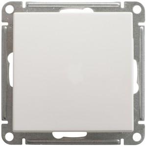 Одноклавишный переключатель 10А SE W59 Aqua IP44, белый