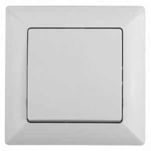 Выключатель 10А-250В Intro Solo, белый 4-101-01